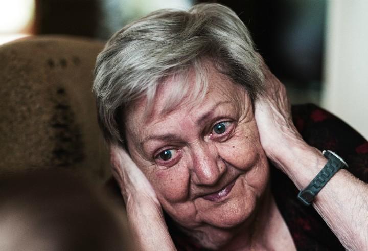 glucha babcia