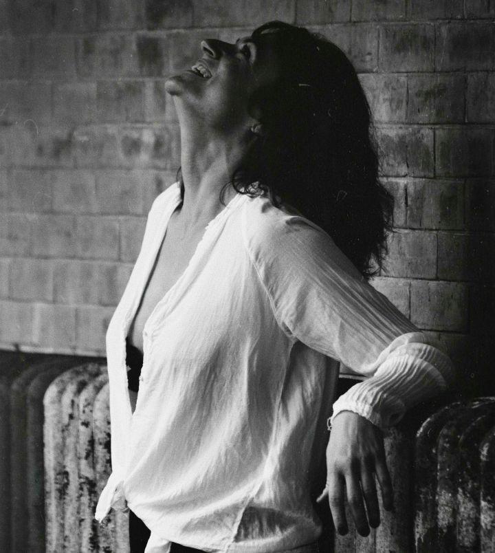 kobieta usmiech relaks