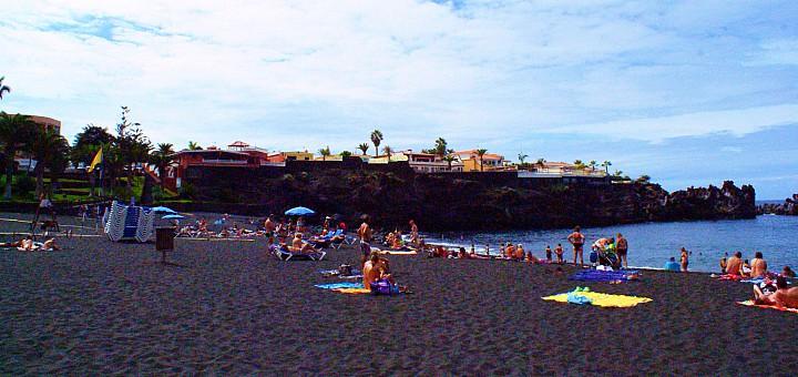 teneryfa playa la arena