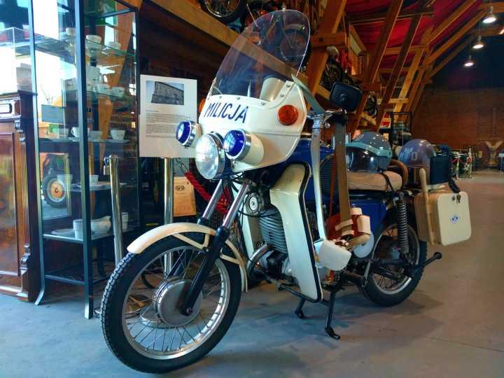 motocykl muzeum motoryzacji topacz