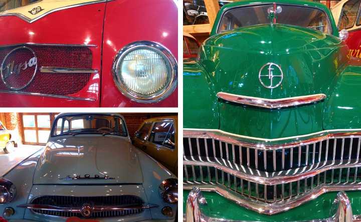 samochody muzeum motoryzacji topacz