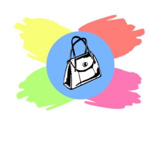do czego nosic niebieska torebke