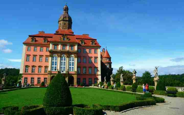 atrakcje zamku ksiaz