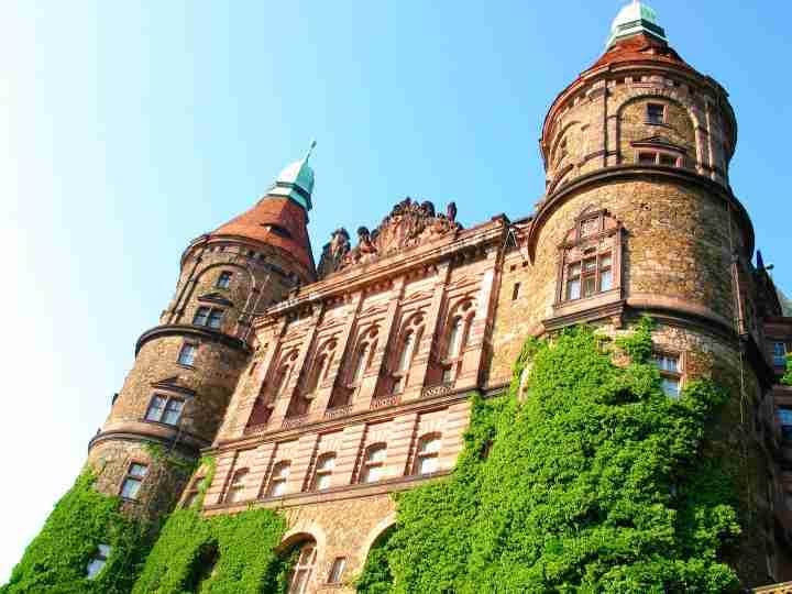 zwiedzanie zamku ksiaz