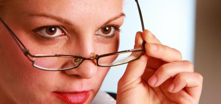 problemy ze wzrokiem po 40