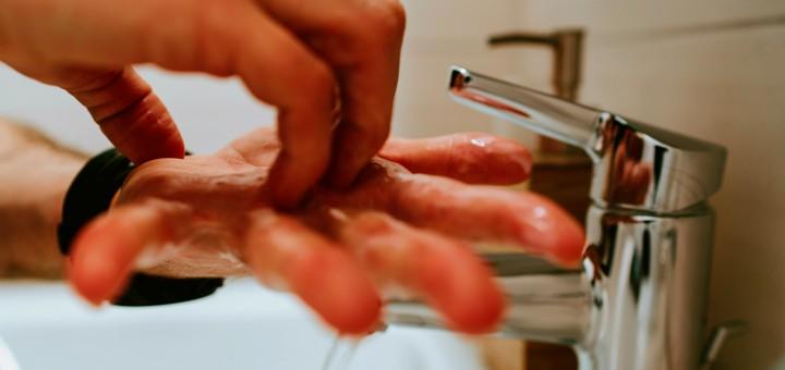koronawirus mycie rak