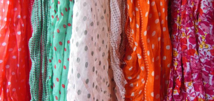 moda na jesień chusty