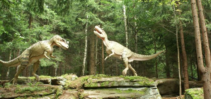 szklarska poręba park dinozaurów