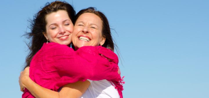 dzień matki matka i córka