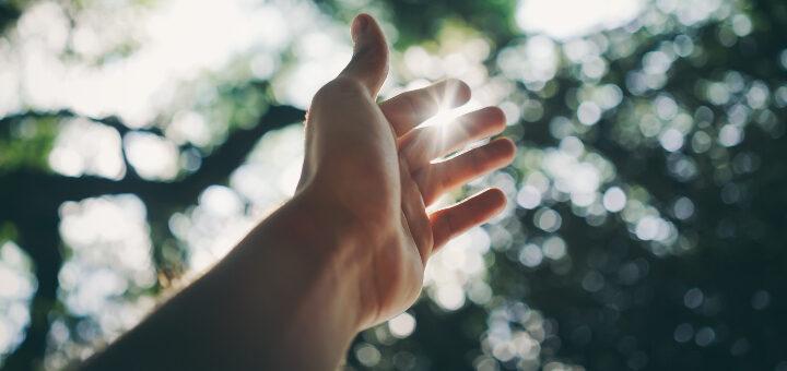 psychoterapia ręka optymizm