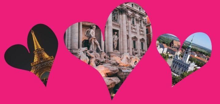 Najbardziej romantyczne miasta Europy na Walentynki