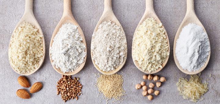 rodzaje mąki bezglutenowe